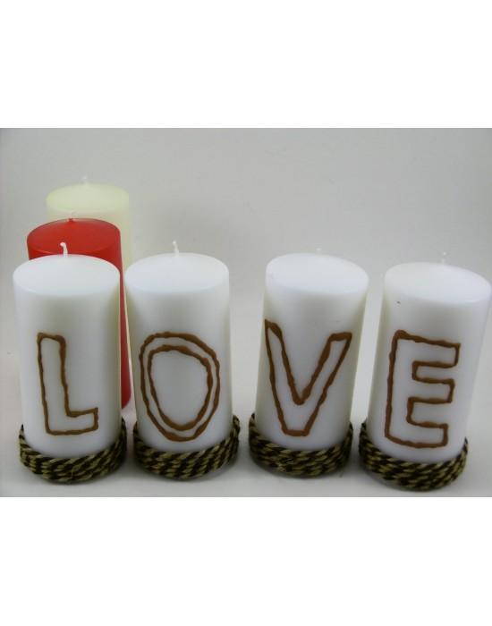 ΚΕΡΙ ΑΡΩΜΑ LOVE S/4 IVORY
